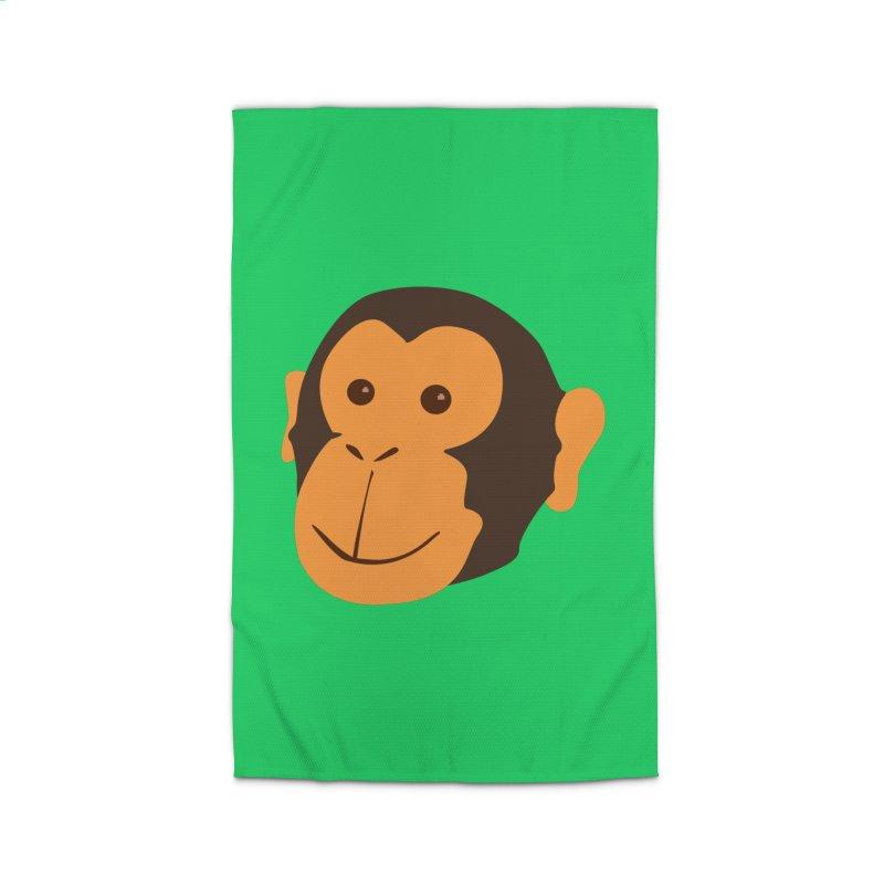 Happy Monkey  Home Rug by Boshik's Tshirt Shop