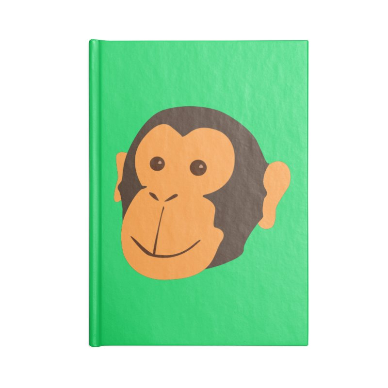 Happy Monkey  Accessories Notebook by Boshik's Tshirt Shop