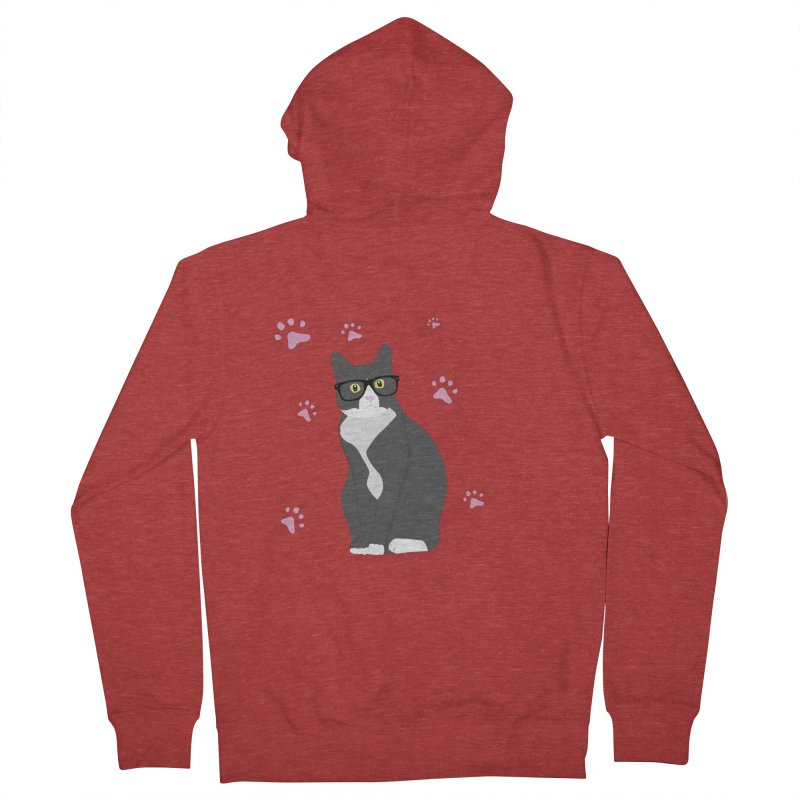 C is for Cat Women's Zip-Up Hoody by Boshik's Tshirt Shop