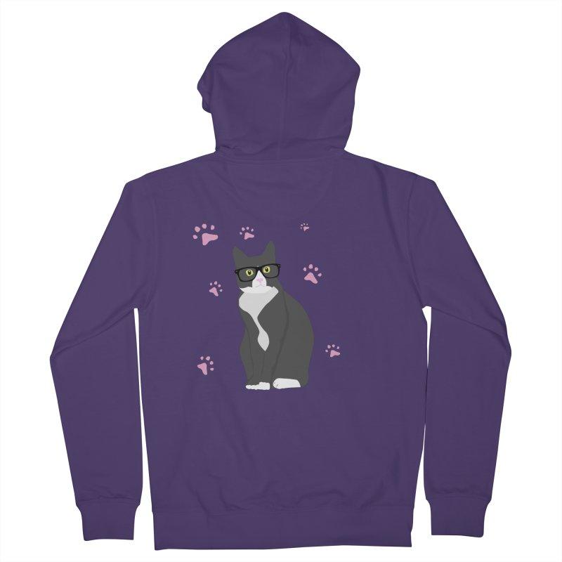 C is for Cat Women's Zip-Up Hoody by Boshik's Tshirt Shop