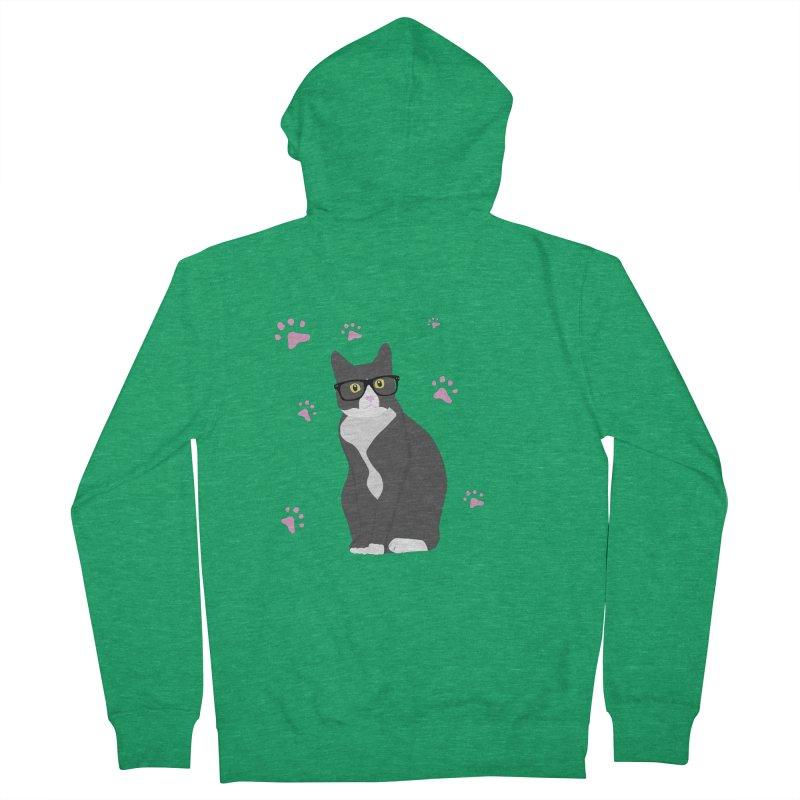 C is for Cat Men's Zip-Up Hoody by Boshik's Tshirt Shop