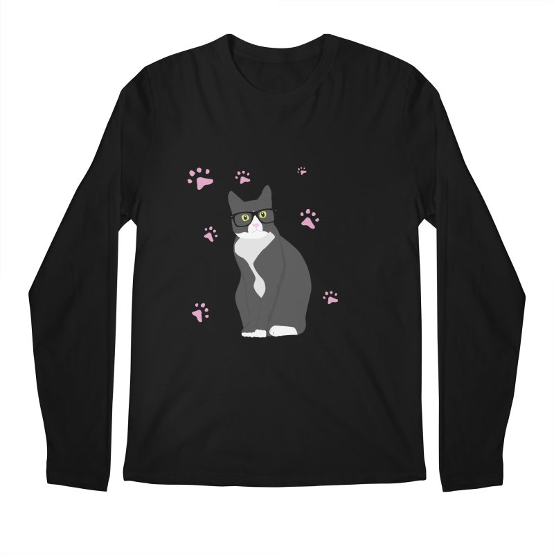C is for Cat Men's Longsleeve T-Shirt by Boshik's Tshirt Shop