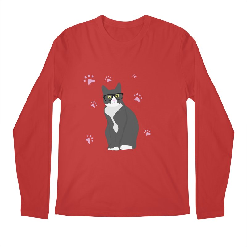 C is for Cat Men's Longsleeve T-Shirt by Boshik's Tshirt Shop