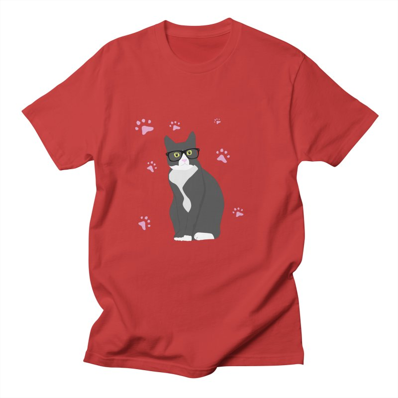 C is for Cat Men's Regular T-Shirt by Boshik's Tshirt Shop