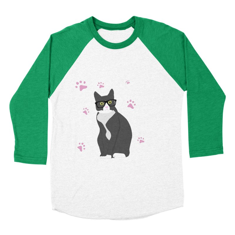 C is for Cat Men's Baseball Triblend T-Shirt by Boshik's Tshirt Shop