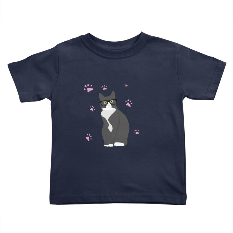 C is for Cat Kids Toddler T-Shirt by Boshik's Tshirt Shop
