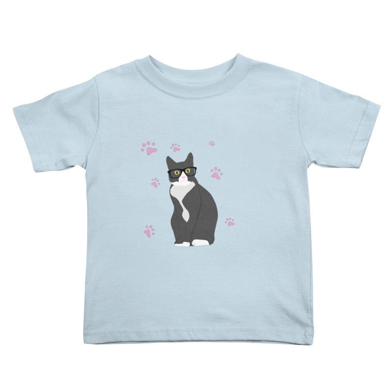 C is for Cat Kids Toddler T-Shirt by Boshik's Tshirt Shop