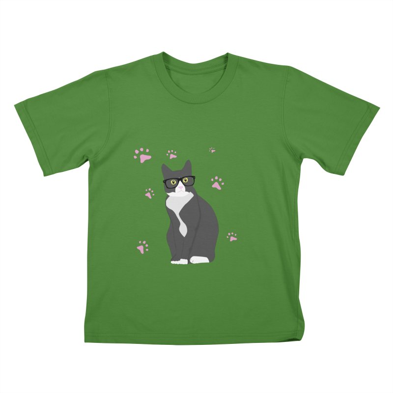 C is for Cat Kids T-Shirt by Boshik's Tshirt Shop