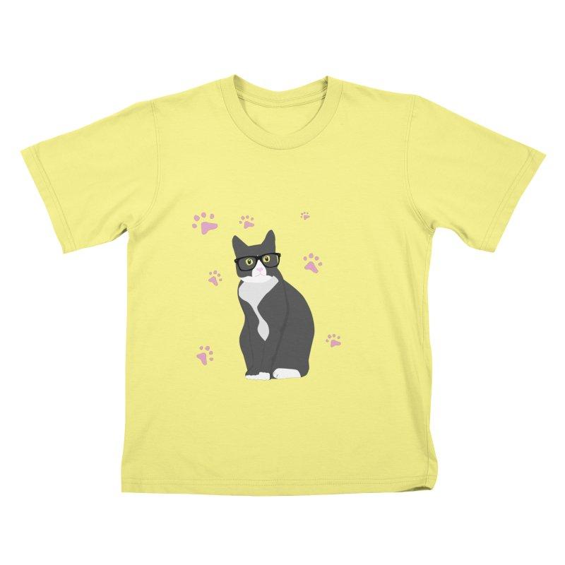 C is for Cat Kids T-shirt by Boshik's Tshirt Shop