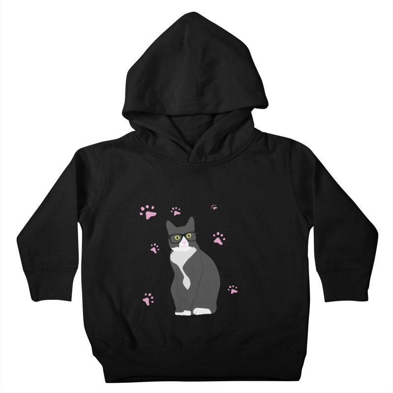 C is for Cat Kids Toddler Pullover Hoody by Boshik's Tshirt Shop