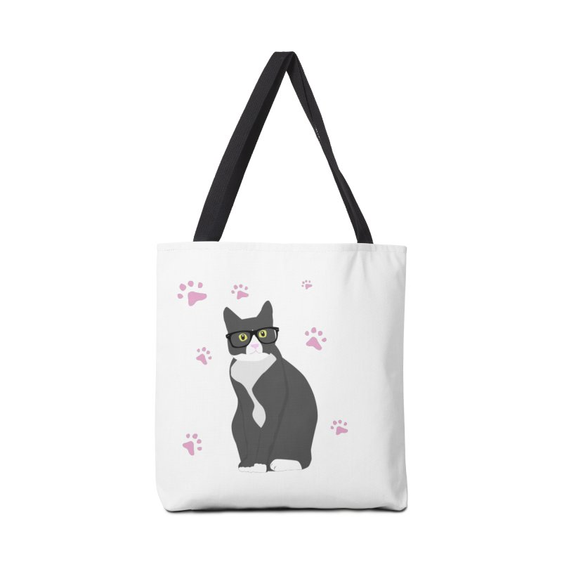 C is for Cat Accessories Tote Bag Bag by Boshik's Tshirt Shop
