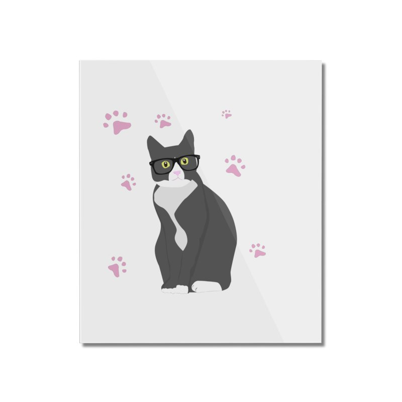 C is for Cat Home Mounted Acrylic Print by Boshik's Tshirt Shop