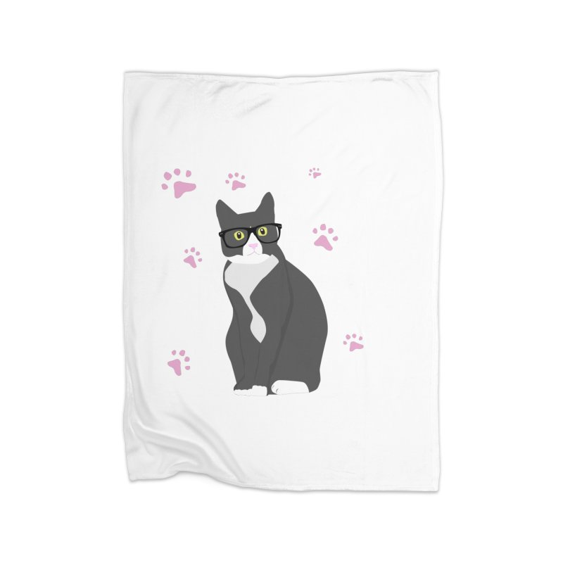 C is for Cat Home Blanket by Boshik's Tshirt Shop