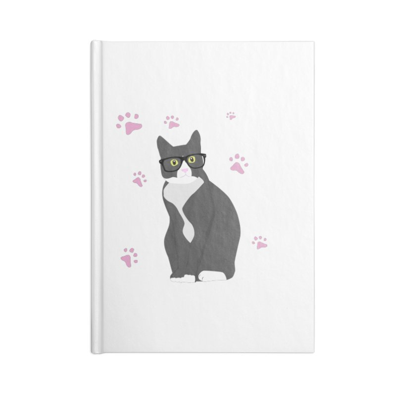 C is for Cat Accessories Notebook by Boshik's Tshirt Shop