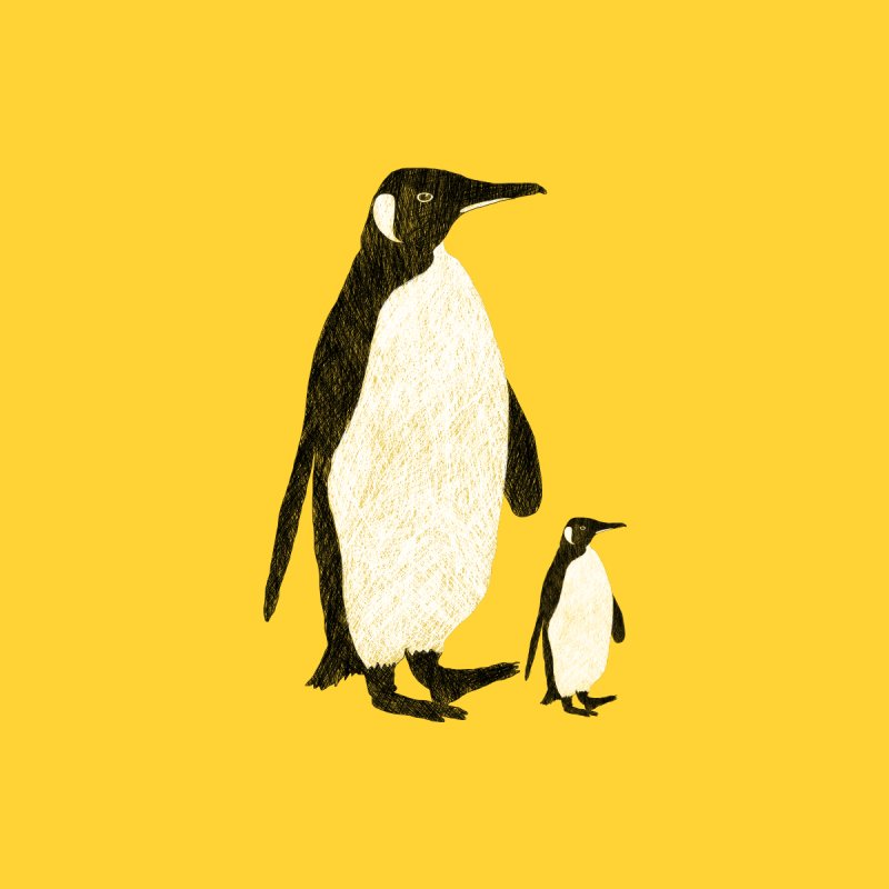Penguins Home Blanket by Boshik's Tshirt Shop