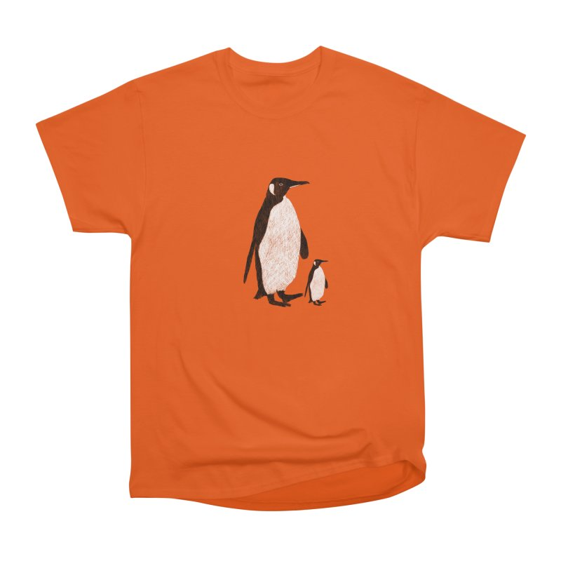 Penguins Men's Heavyweight T-Shirt by Boshik's Tshirt Shop