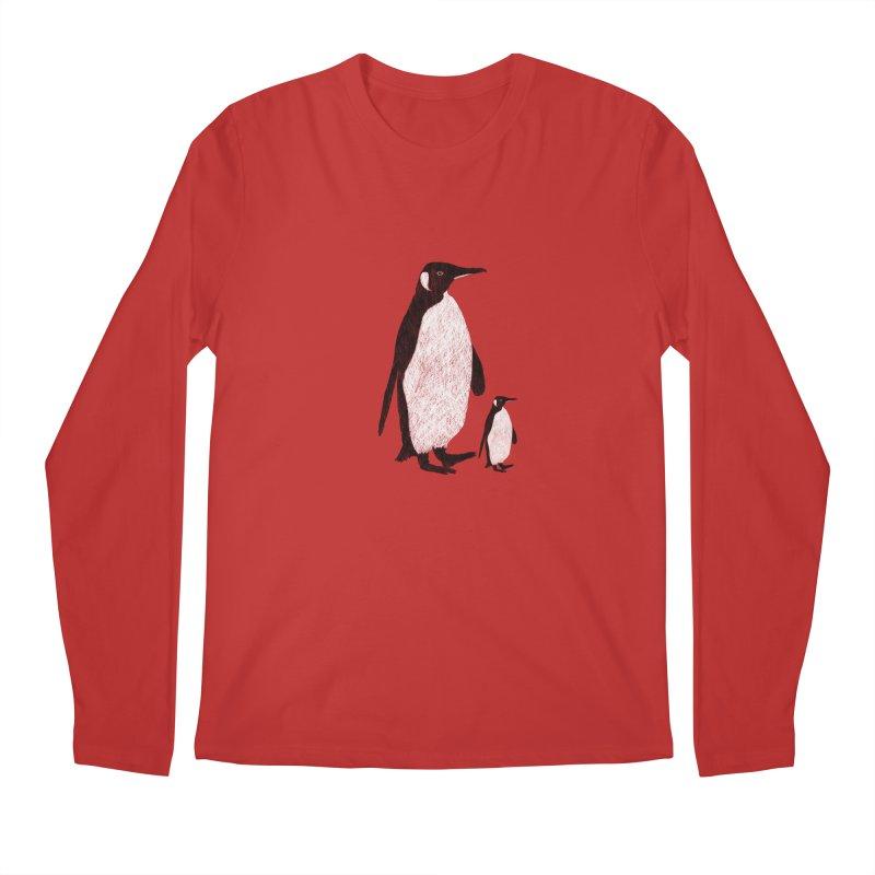 Penguins Men's Longsleeve T-Shirt by Boshik's Tshirt Shop