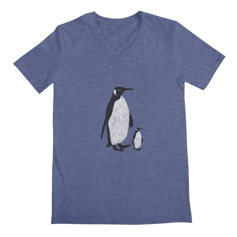 Penguins Men's V-Neck by Boshik's Tshirt Shop