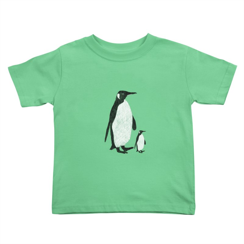 Penguins Kids Toddler T-Shirt by Boshik's Tshirt Shop