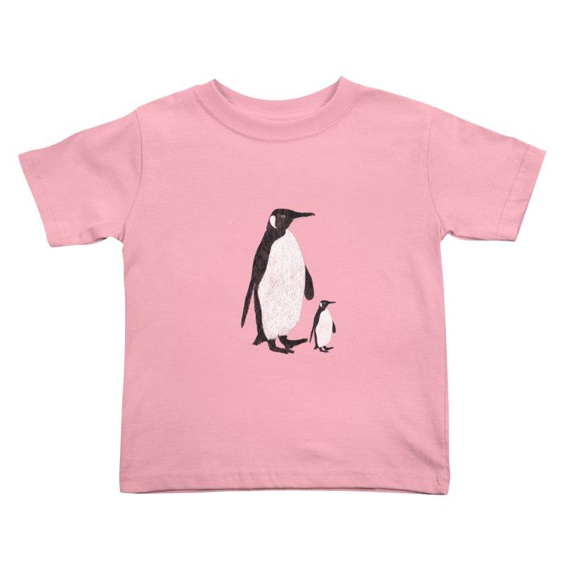 Penguins Kids Toddler T-Shirt by Boshik's Tshirt Shop