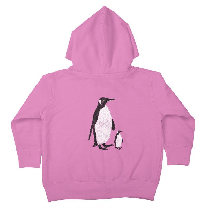 Penguins Kids Toddler Zip-Up Hoody by Boshik's Tshirt Shop