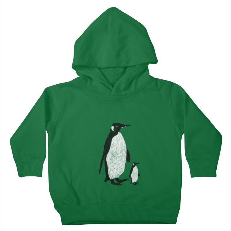 Penguins Kids Toddler Pullover Hoody by Boshik's Tshirt Shop
