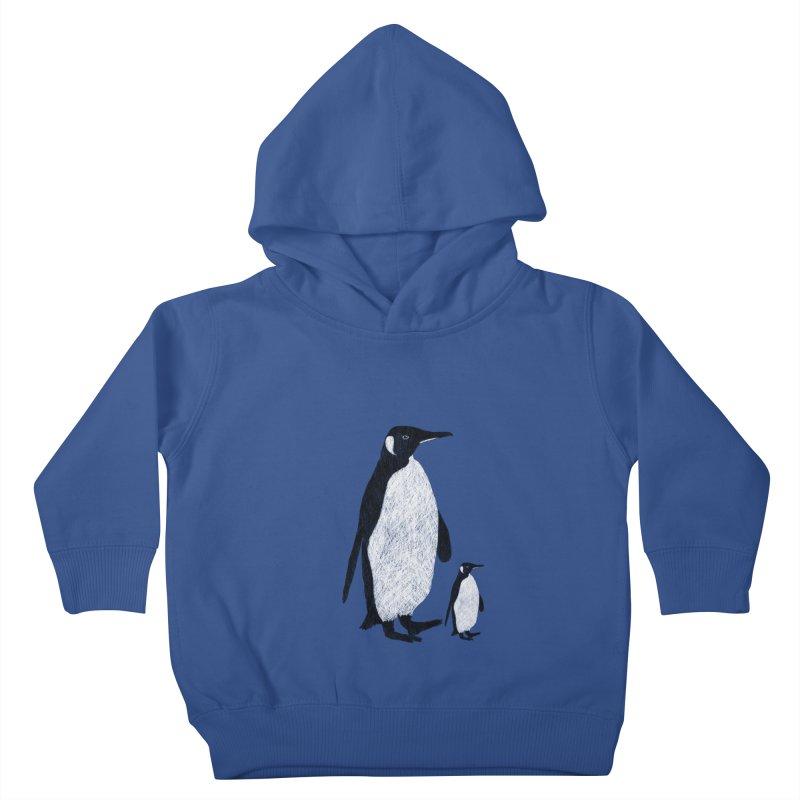 Penguins Kids Toddler Pullover Hoody by Boshik's Tshirt Shop