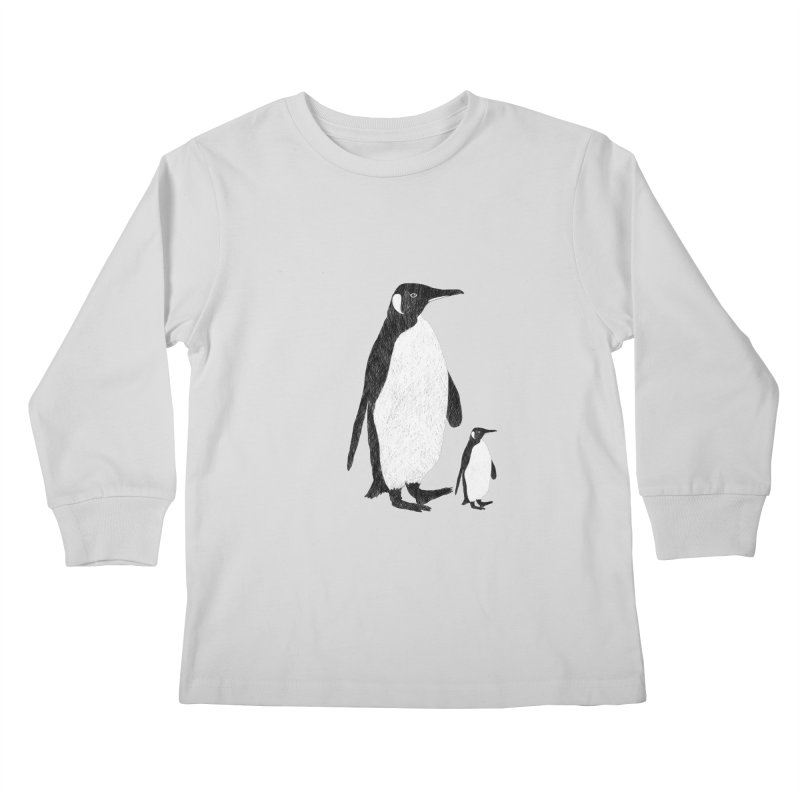 Penguins Kids Longsleeve T-Shirt by Boshik's Tshirt Shop