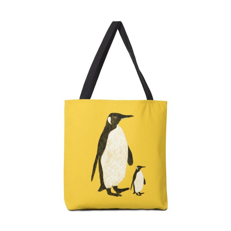 Penguins Accessories Tote Bag Bag by Boshik's Tshirt Shop