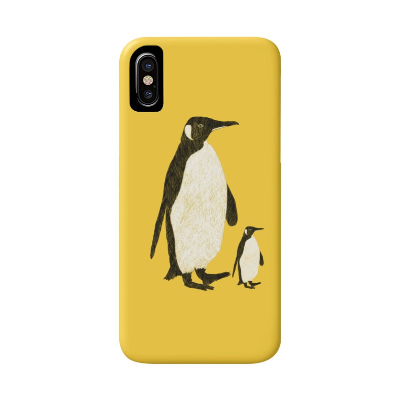 Penguins Accessories Phone Case by Boshik's Tshirt Shop