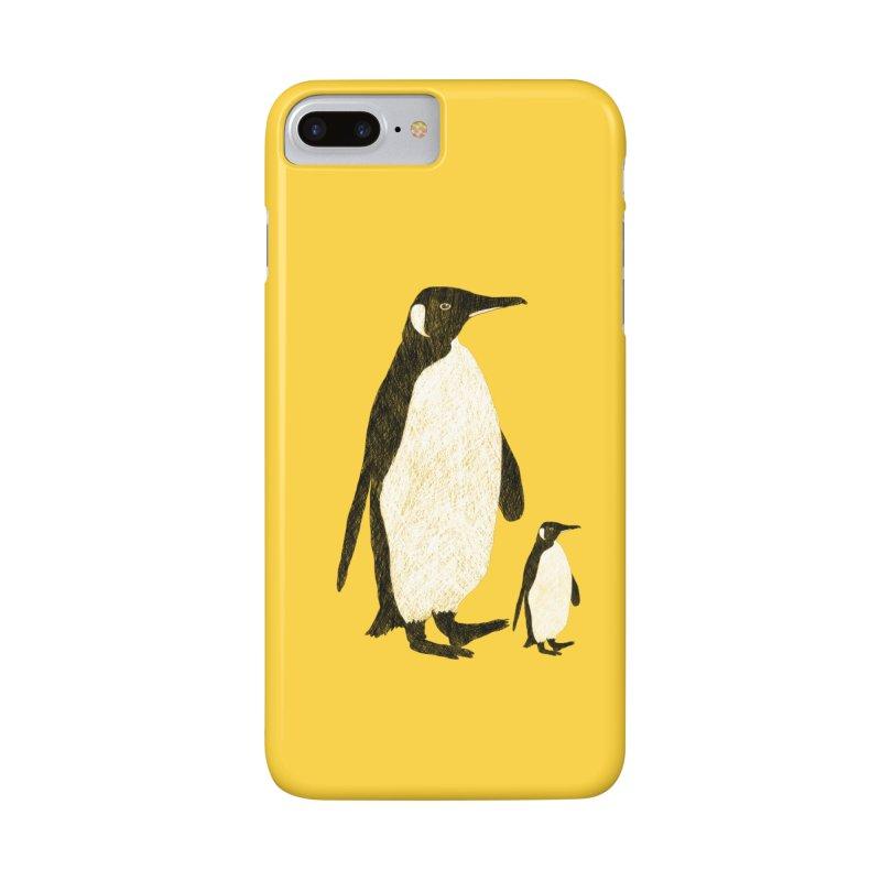 Penguins Accessories Phone Case by Boshik's Tshirt Shop