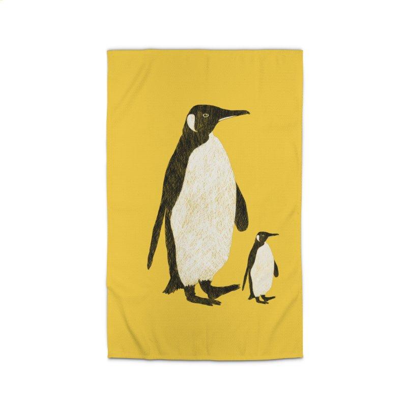 Penguins Home Rug by Boshik's Tshirt Shop