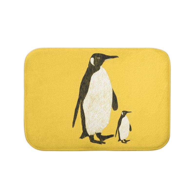Penguins Home Bath Mat by Boshik's Tshirt Shop