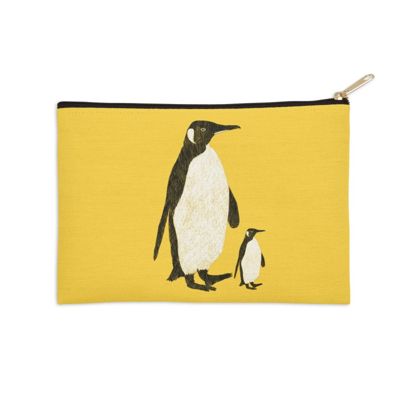 Penguins Accessories Zip Pouch by Boshik's Tshirt Shop