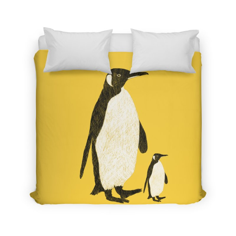 Penguins Home Duvet by Boshik's Tshirt Shop