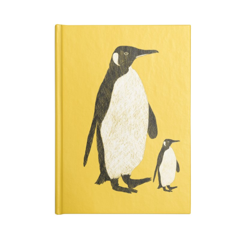 Penguins Accessories Notebook by Boshik's Tshirt Shop