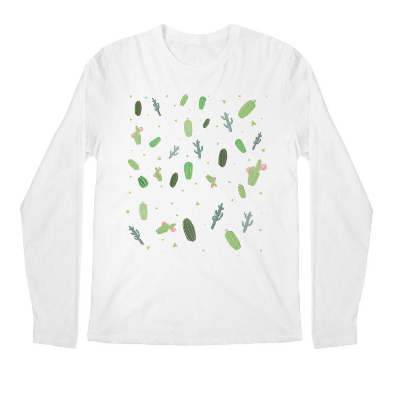 Desert Flower Men's Longsleeve T-Shirt by Boshik's Tshirt Shop