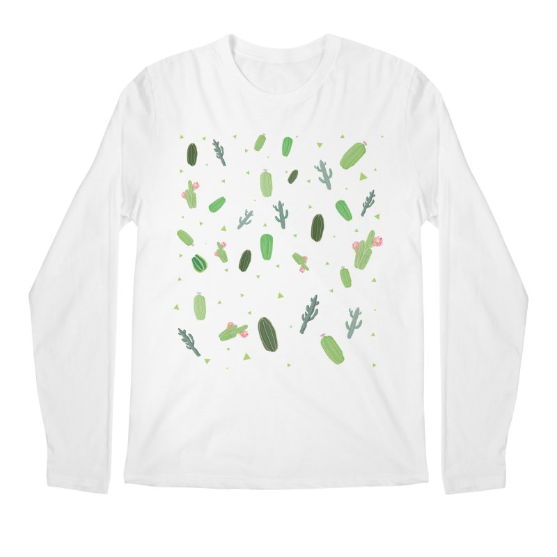 Desert Flower Men's Regular Longsleeve T-Shirt by Boshik's Tshirt Shop