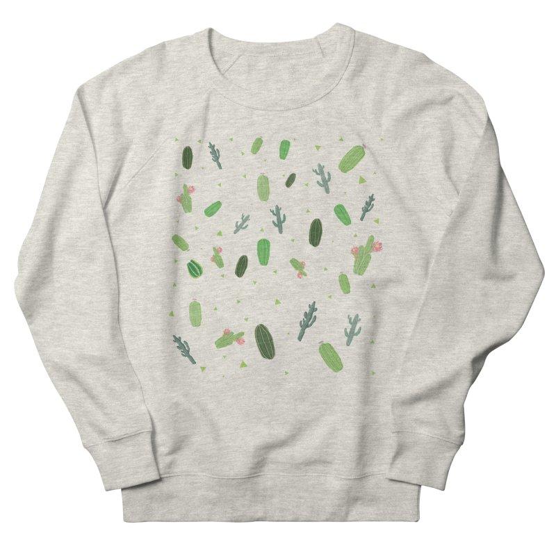 Desert Flower Women's French Terry Sweatshirt by Boshik's Tshirt Shop