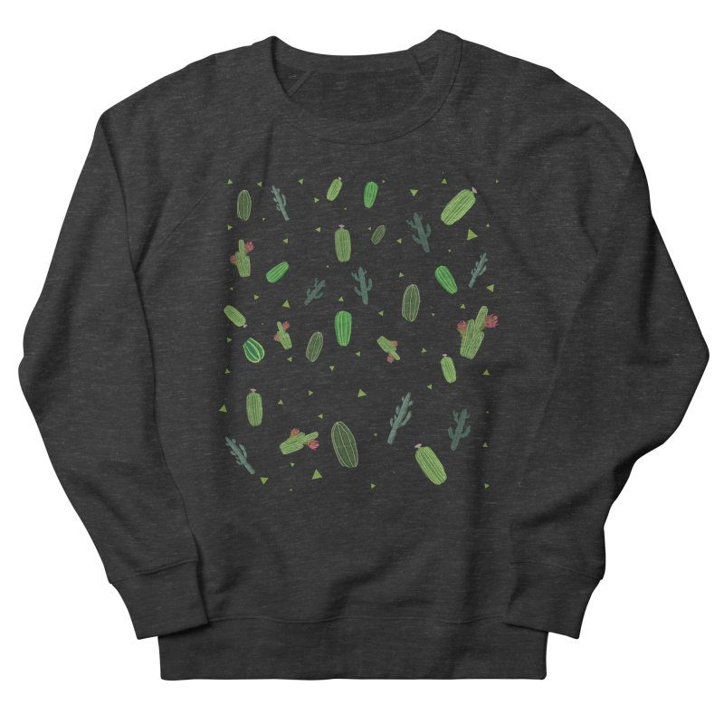 Desert Flower Men's French Terry Sweatshirt by Boshik's Tshirt Shop
