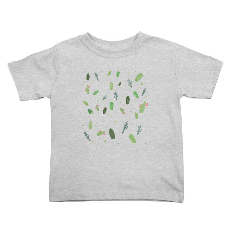 Desert Flower Kids Toddler T-Shirt by Boshik's Tshirt Shop