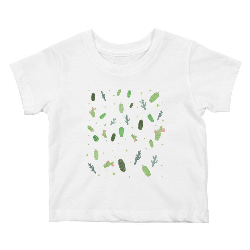 Desert Flower Kids Baby T-Shirt by Boshik's Tshirt Shop