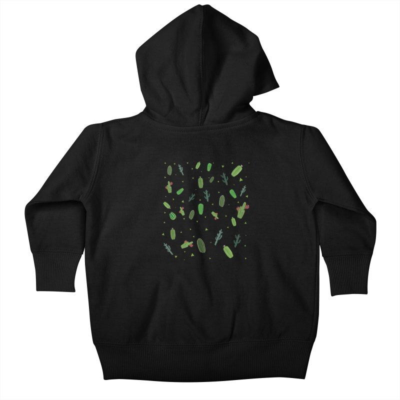 Desert Flower Kids Baby Zip-Up Hoody by Boshik's Tshirt Shop