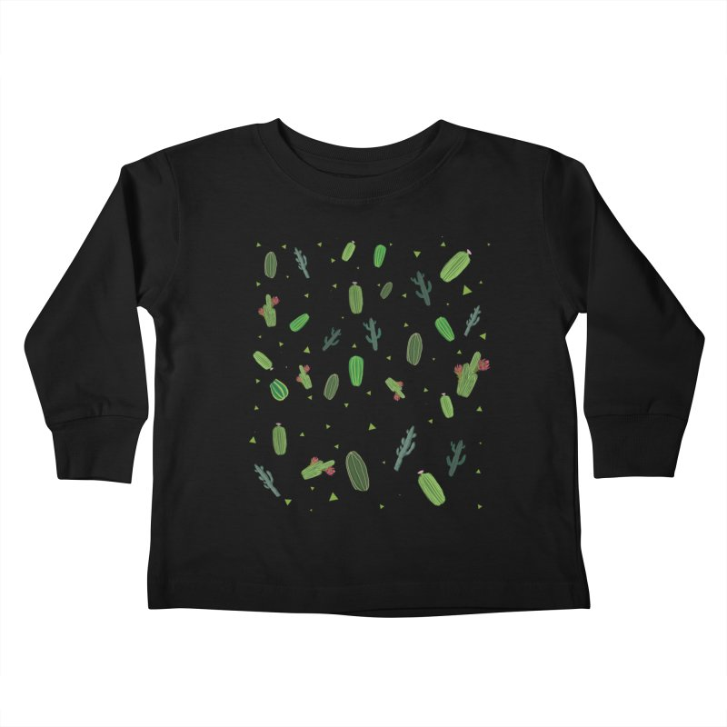 Desert Flower Kids Toddler Longsleeve T-Shirt by Boshik's Tshirt Shop