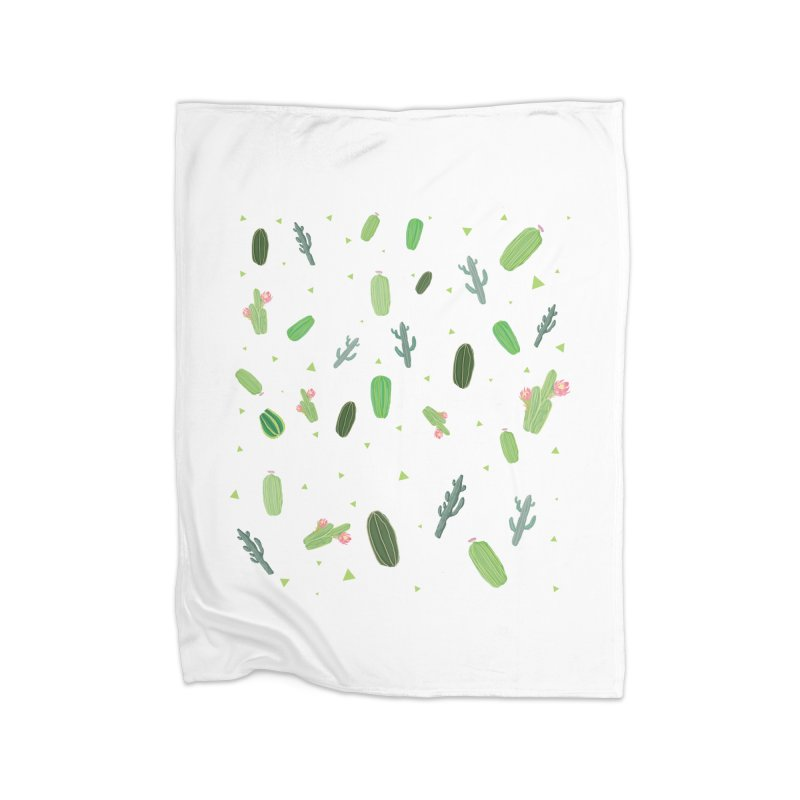 Desert Flower Home Blanket by Boshik's Tshirt Shop