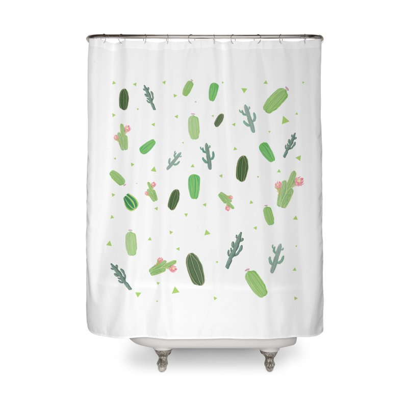Desert Flower Home Shower Curtain by Boshik's Tshirt Shop