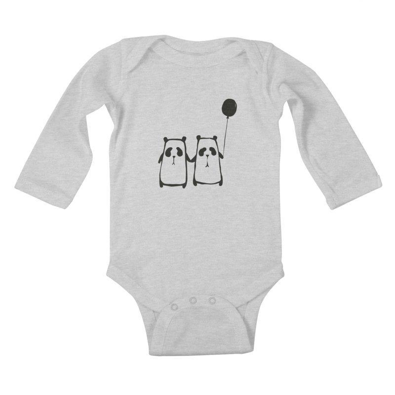 Friends 4 ever Kids Baby Longsleeve Bodysuit by Boshik's Tshirt Shop