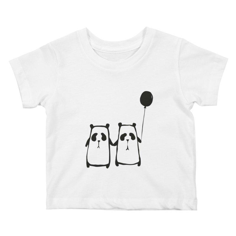 Friends 4 ever Kids Baby T-Shirt by Boshik's Tshirt Shop