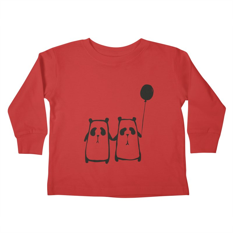Friends 4 ever Kids Toddler Longsleeve T-Shirt by Boshik's Tshirt Shop
