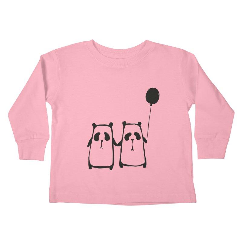 Friends 4 ever Kids Toddler Longsleeve T-Shirt by Boshik's Tshirt Shop
